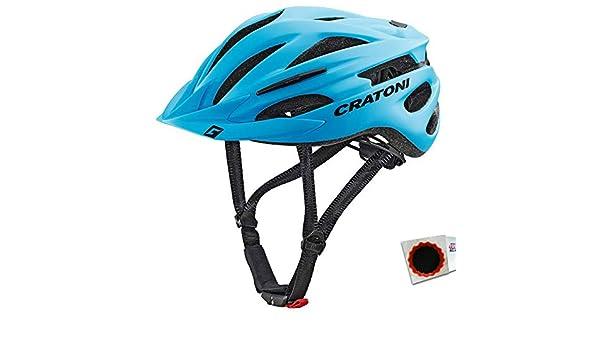 58-62cm MTB Blu Opaco taglia L//XL Cratoni Casco Bicicletta Pacer