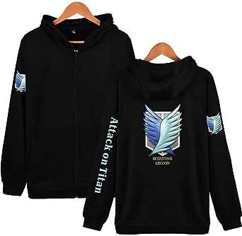 Attack on Titan Zipper Hoodie Scout Legion Jiyuu no Tsubasa Cosplay Jacket