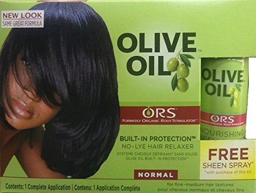 Relaxer / Glättungsc​reme Organic Root Stimulator Relaxer Normal / Regular (Olive Hair Oil Relaxer)