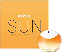 NIVEA SUN Eau de Toilette (1 x 30 ml) mit dem Original NIVEA SUN Sonnencreme Duft, sommerlicher Damenduft im ikonischen...