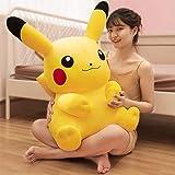 Xiaotian Jouet en Peluche Pikachu Poupée Jouet en Peluche Cadeau d'anniversaire Big Doll Pikachu Sleeping Oreiller Girl Doll