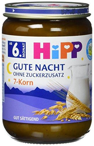 HiPP Gute Nacht, 7-Korn, 6er Pack (6 x 190 g)