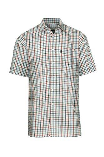 Champion Herren Legere Shirts Freizeit-Hemd, Kariert Blau - Navy Check