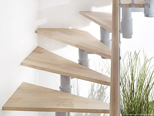 Profigold Torino Space Saver Staircase Kit with 30 mm Solid Beech