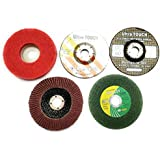 APS® 11 PIECE COMBO SET OF GRINDING WHEEL ANGLE GRINDER DISC CUTTING POLISHING BUFFING WOOD MARBLE STONE GRANITE STEEL METAL PLASTIC