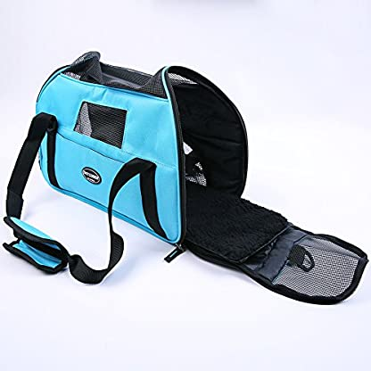 Treat Me Dog Travel Carrier Breathable Portable Easy to Clean 8