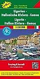 Ligurien - Italienische Riviera - Genua, Autokarte 1:150.000, Top 10 Tips: Toeristische wegenkaart 1:150 000 (freytag & berndt Auto + Freizeitkarten) -