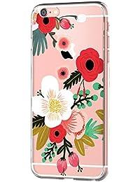 "vanki Coque iPhone 6 6S, TPU Souple Etui de Protection Silicone Case Soft Gel Cover Anti Rayure Anti Choc pour Apple iPhone 6 6S 4.7"""