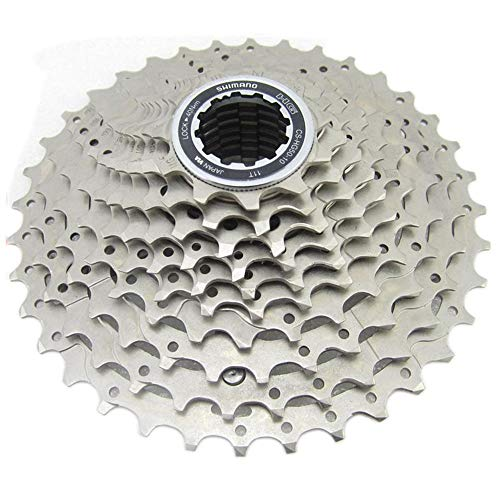 Hyperglide Kassette CS-HG50-10 Schwungrad Mountainbike 10/30 Geschwindigkeit Schwungrad Speed   Mountain Bike Cassette (Farbe : Silber, Größe : 11-36T) -