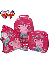 Peppa Pig - Equipaje infantil  Rosa rosa 4 different sizes , please check the pictures