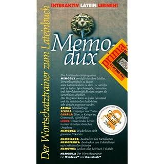 MemoDux. Prima B 1. CD-ROM für Windows und Macintosh: Gesamtkurs Latein. Multimedialer Wortschatztrainer