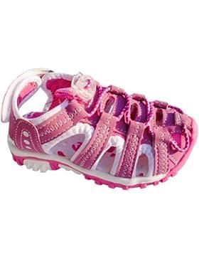 Kinder Trekking Sandalen mit Lederinnensohle, Gr.25-30, pink
