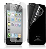 10x Hf4you High Quality Scratch Resistant iPhone 4/4s Screen Protectors