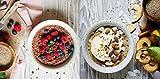meinpaleo Power Porridge aus kontrolliert biologischem Anbau ● APFEL-ZIMT oder SCHOKO ● Glutenfrei ● Vegan ● Ohne raffiniertem Zucker (APFEL-ZIMT & SCHOKOLADE, 2 x 250)