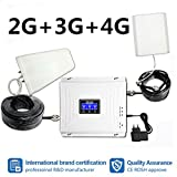 NO Hohe Qualität LCD Display 2G 3G 4G Tri Band Handy Signal Booster GSM W-CDMA LTE 900 1800 2100 MHz Repeater Verstärker Repetitor Full Kit