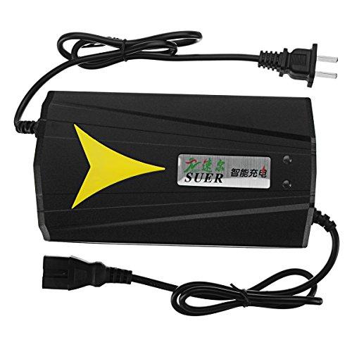 WCHAOEN Caricatore intelligente 72V 20AH per batteria al piombo elettrica della bicicletta del motorino della bici Riparare part