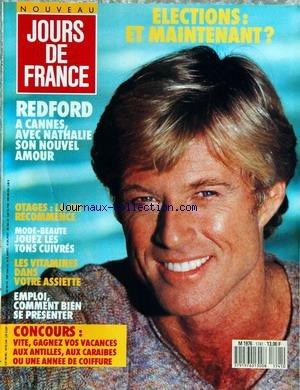 JOURS DE FRANCE [No 1741] du 16/05/1988 ...