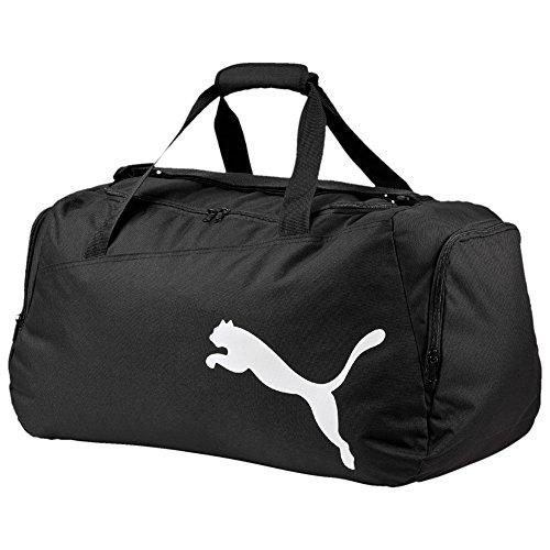 PUMA Pro Training Medium Bag Sporttasche, Puma Black-Fiery Coral, 60 x 30 x 3.5 cm