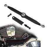 Totenkopf schwarz Shift Linkage für Harley Davidson Softail Road King Electra Glide CVO Fat Boy...
