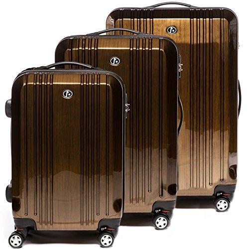 FERGÉ® Kofferset Hartschale 3-teilig