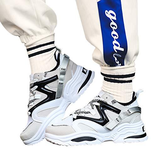 COOLIY Sneakers da Uomo 2019 Scarpe da Uomo Scarpe Casual Sneakers Fashion Scarpe da Tennis da Tennis Uomo Adulto Uomo Sneakers Scarpe Uomo Leggero Traspirante