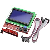 Redrex Full Graphique 12864 LCD Smart Display Controller pour RepRap RAMPS 1.4 Imprimante 3D Mendel Prusa Arduino Mega Board