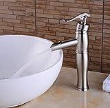 Miscelatore monocomando per lavabo rubinetto acqua calda e fredda Rubinetto miscelatore monocomando per lavabo