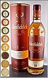 Glenfiddich Solera Reserve 15 Jahre Single Malt Whisky (0,7 Liter-40 %VOL.) mit DreiMeister Edel Schokoladen