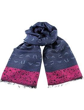 ARMANI JEANS Damen Schal im Geschenkbox 924163 blau