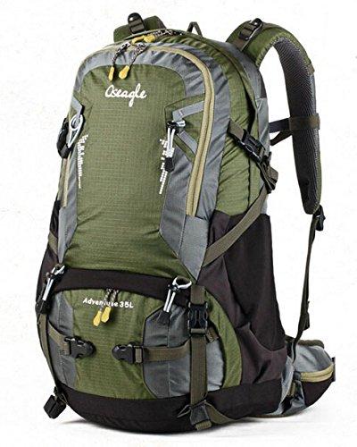 Cinny multifunktionalen Rucksäcke outdoor Wanderrucksack Wanderrucksack Tasche Travel Tasche nylon Green