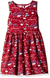 Disney Girls' Mickey and Minnie Mouse  Dress (GD16-208ASDRCD_Multicolor_7 - 8 years)