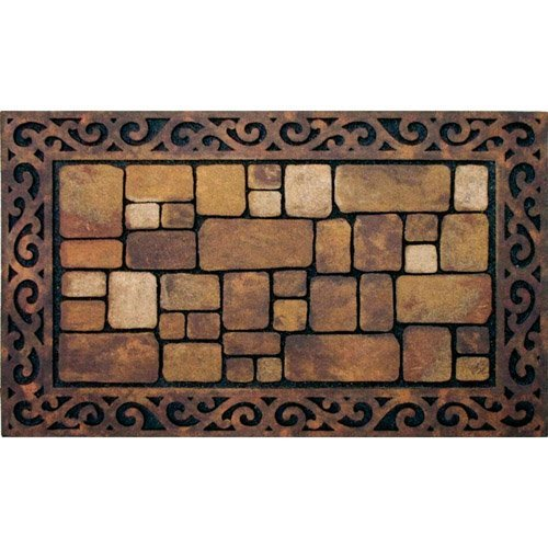 Apache Mills 60-764-1029 Masterpiece Aberdeen Entrance Mat, 18-inch by 30-Inch by Apache Mills -