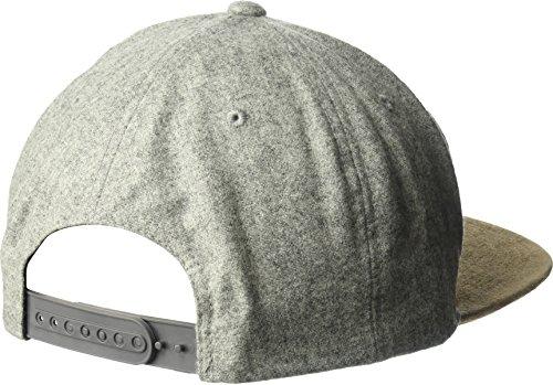 Volcom Herren Cap Quarter Fabric Grey Combo