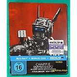 Chappie (2015) - Limited Edition Steelbook (Blu-ray + Bonus Blu-ray + UV Copy) Blu-ray