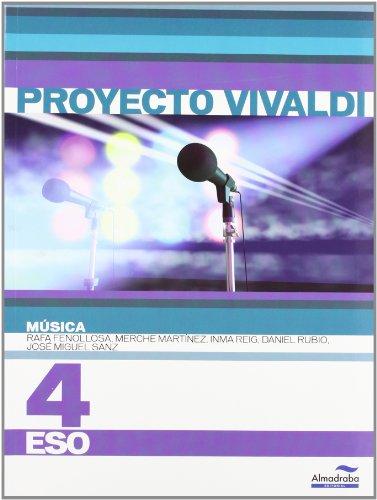 Música 4º ESO (Proyecto Vivaldi) (Libros de texto) - 9788483086360