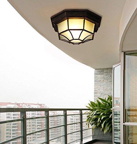 Industrielle Retro Stil Eingang Studie Schlafzimmer Zimmer Balkon gang Lampen lebenden amerikanischen Eisen loft Flur Decke (Stil: G-1 Typ Lampe) - G1 Auge