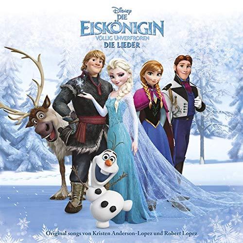 frozen cd Die Eiskönigin - Völlig Unverfroren - Die Lieder (Frozen)