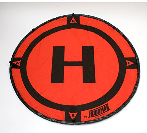 Hoodman - Plateforme de lancement de drone - Diamètre de 90 cm