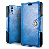 SLEO Case for Xiaomi Black Shark 2 Case, Retro PU Leather