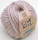 Katia Love lana # 101super chunky 12–15mm agujas 85% Lana 15% alpaca 100G de punta de bola