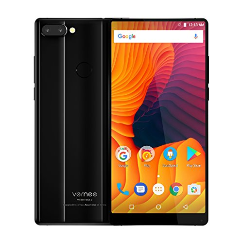 VERNEE MIX 2 unlocked 4G smartphone Android 7.0 6GB RAM 64GB ROM