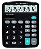 SaleOn™ CLTLLZEN Financial and Business Office Calculator with Large LCD Display (Black)-804