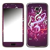 Disagu SF-106104_914 Design Skin für Samsung Galaxy S5 Mini - Motiv Leuchtende Notenschlüssel_2
