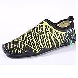 NAN Schwimmen Schuhe elastische Mesh-Obermaterial + rutschfeste Gummi-Außensohle Unisex Sommer...