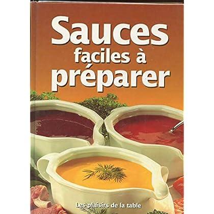 Sauces faciles à préparer