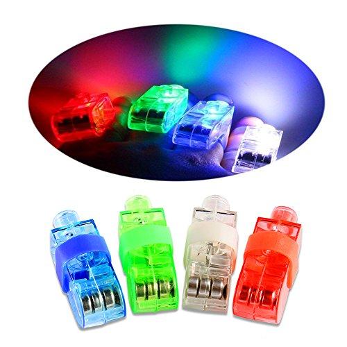 ONEDONE LED Fingerlichter Finger Beleuchtung, Spielzeug Party Favor Supplies Neuheit Dazzling Toys 48 (Party Karneval Supplies)