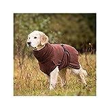 Hunde Bademantel Dryup Cape (S, braun)