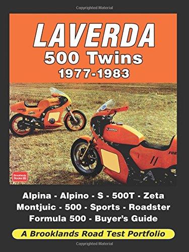 Laverda 500 Twins Road 1977-1983 Road Test Portfolio
