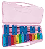 Angel AX25K-PK Glockenspiel 25 notes Rose Col