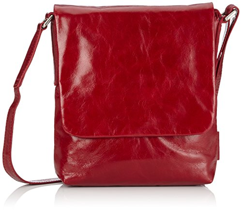 Jost Toronto Shoulder Bag S, Sacoche femme Rouge - Red (Ruby)